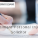 Opportunities at Prince Evans Solicitors: Claimant Personal Injury Solicitor