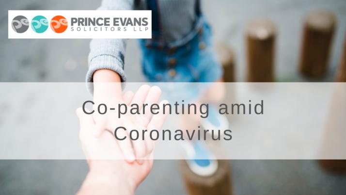 Co-parenting amid Coronavirus