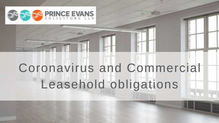Coronavirus and Commercial Leasehold obligations