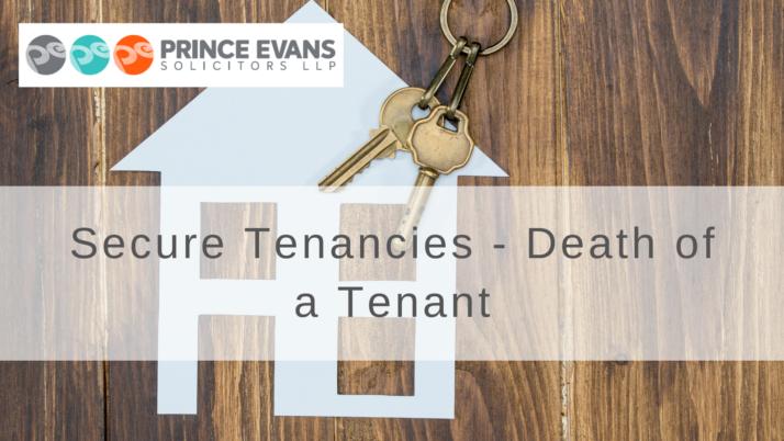 Secure Tenancies – Death of a Tenant