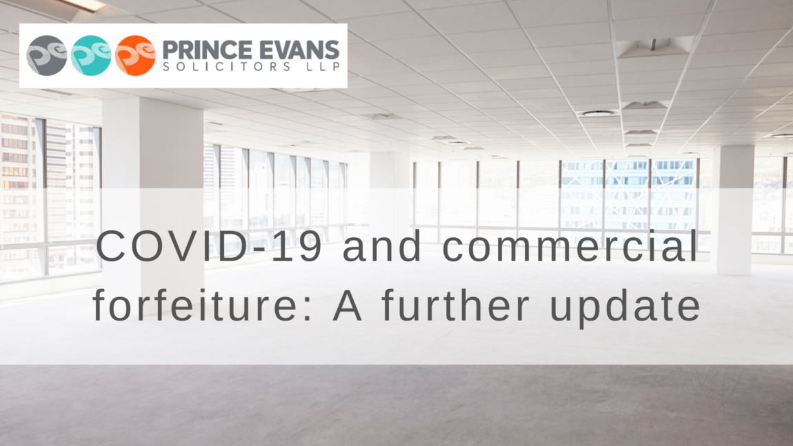 COVID-19 and commercial forfeiture: A further update