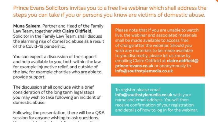 COVID-19: DEALING WITH DOMESTIC ABUSE