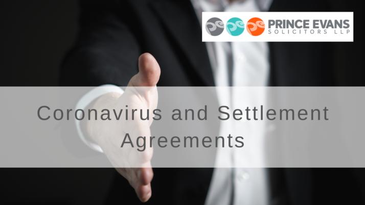 Coronavirus and Settlement Agreements