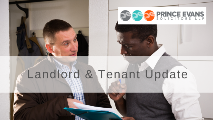 Landlord & Tenant Update