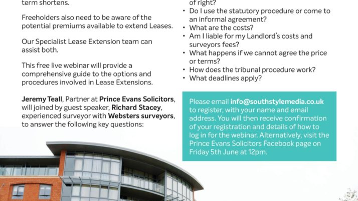 Lease Extensions Seminar