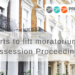 Courts to lift moratorium on Possession Proceedings.