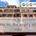 Reactivation of possession claims on the expiry of the stay