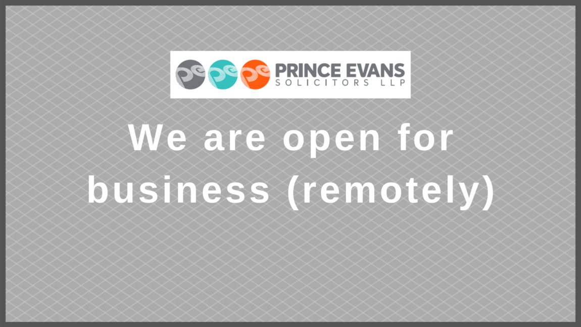 Covid-19 Update: Our offices are closed – We are open for business (remotely)