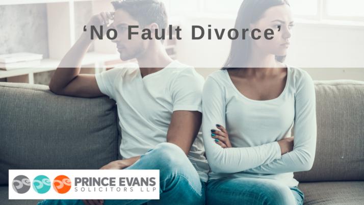 'No Fault Divorce'
