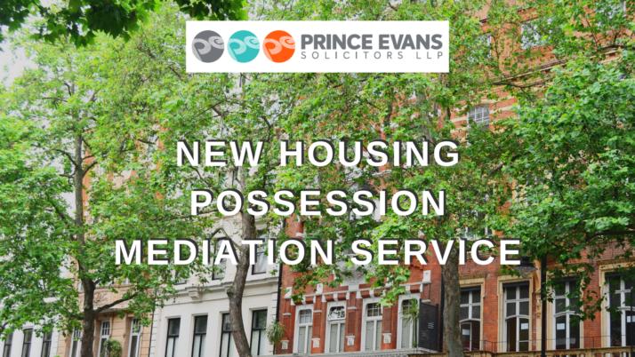 New Housing Possession Mediation Service